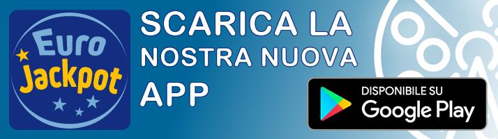 Archivio estrazioni Eurojackpot